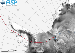 Überblick des Filchner Ice Shelf Projects