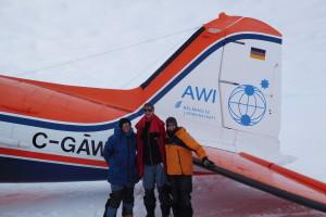 Rückflug mit C-GAWI.