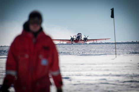 Landung Polar 6