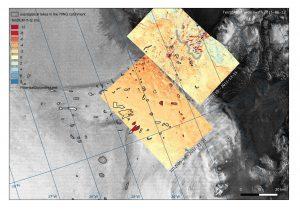 Dynamik der Seen am 79°N Gletscher (TerraSAR-X, TanDEM-X)