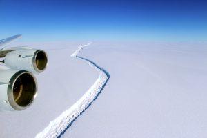 Larsen C: Ein Schritt weiter Richtung Eisberg
