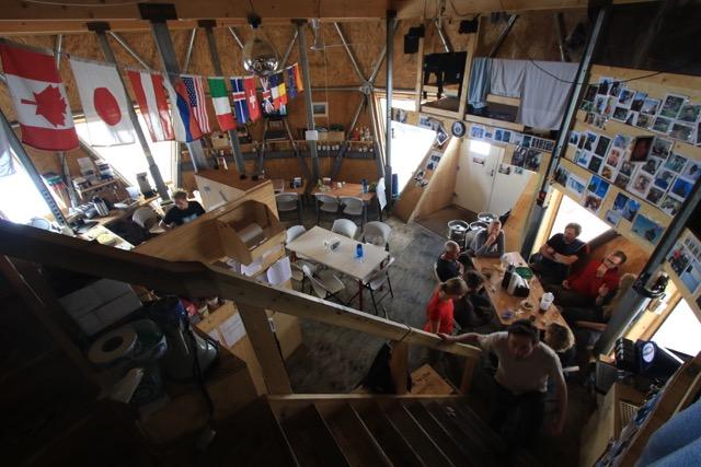 Der Gemeinschaftsraum im Dome (Foto: Nicolas Stoll)