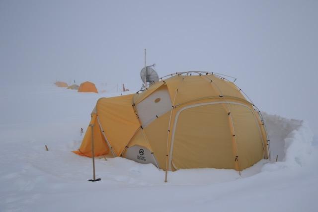 Mein Zelt für die nächsten sechs Wochen (Foto: Nicolas Stoll)