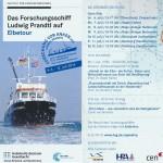 Schnell geknipst, bevor alle weg sind: Flyer zur Forschung vor Anker-Tour 2014