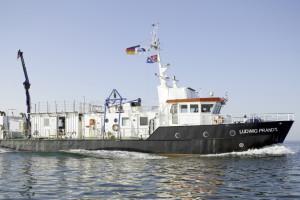 Forschungsschiff Prandtl. Bild: HZG