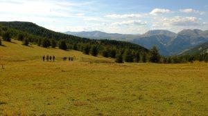 Hiking in the mountains around Peyresq