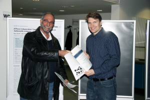Verleihung des Paper of the Month an Frank Surup