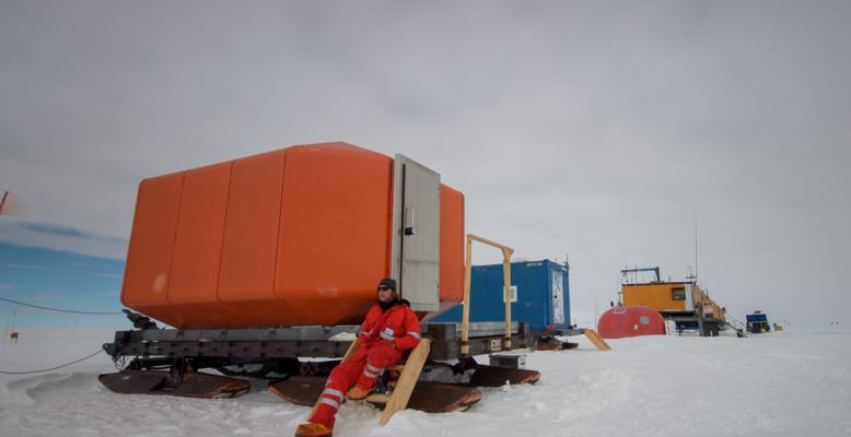 Kohnen-Antarktisstation. Bild: AWI