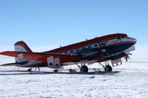 Polar 6 bei der Ankunft an der Kohnen-Station