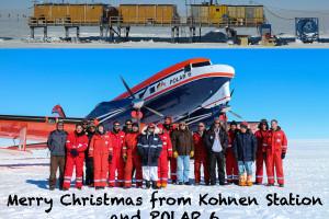 Weihnachts-Gruppenbild Kohnen und Polar 6