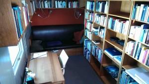 Aufnahme aus der Bibliothek.