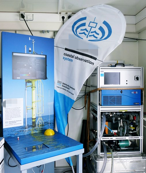 Geräte auf dem Forschungsschiff