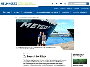 Screenshot helmholtz.de