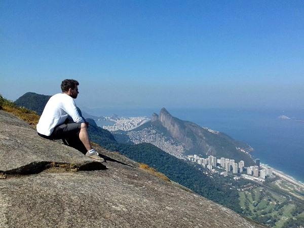 Ausblick auf Rio de Janeiro / Brasilien