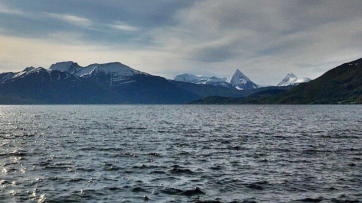Balsfjord in Norwegen