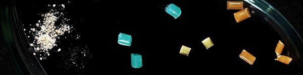 Mikroplastik unter dem Mikroskop