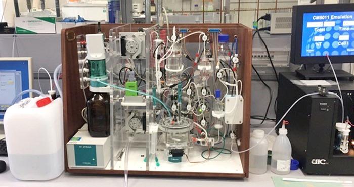 Gerät zur Messung der Alkalinität