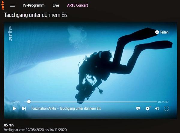 Screenshot arte.tv
