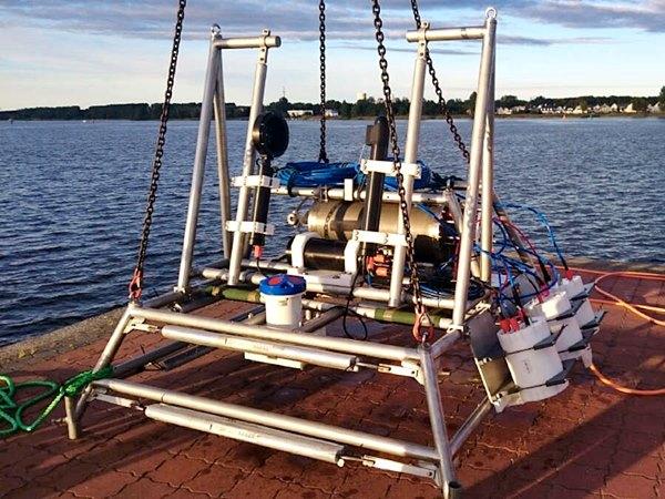 Unterwasser-Plankton Observatorium