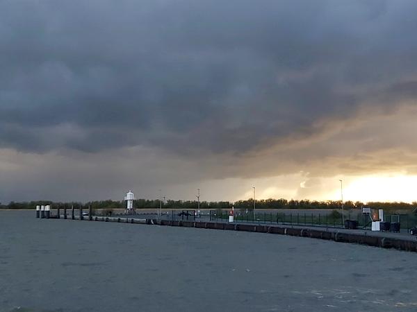 Der Himmel über Glückstadt