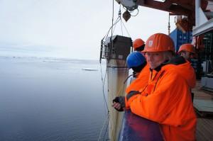 Multi Net gets back on deck. (Photo: Annegret Krandick)