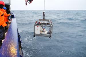 Camera system OFOS to detect garbage on the sea floor. Photo: Melanie Bergmann