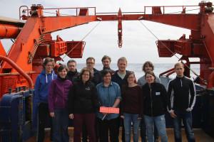 Die ProIron Gruppe (Foto: Andreas Bäcker, FS Polarstern Crew)