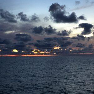 Sunset. Photo: Inge Deschepper