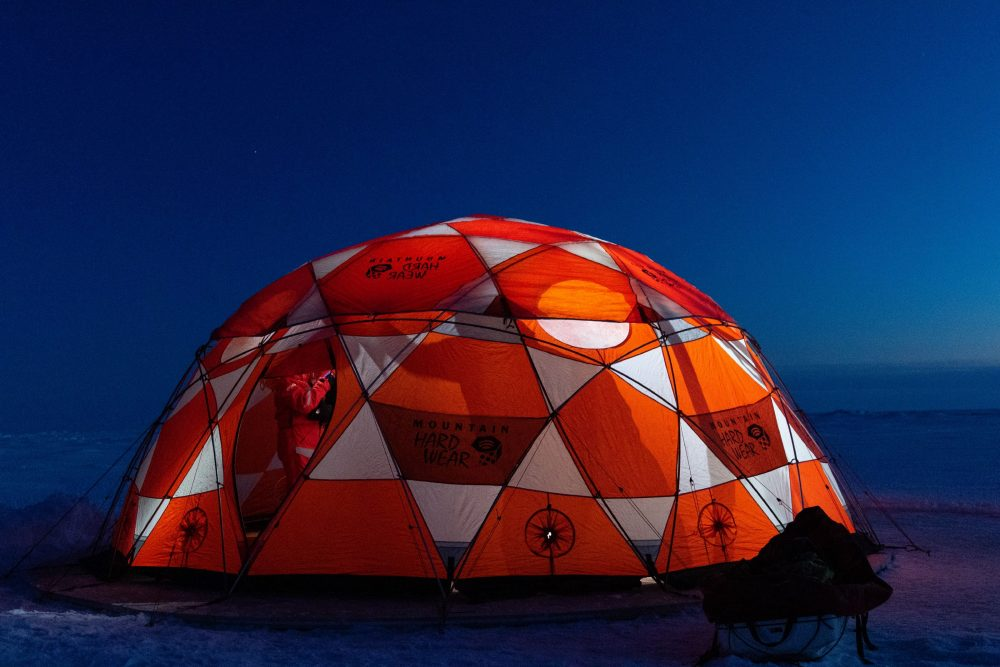 The ROV tent (Photo: Alfred-Wegener-Institut / Marcel Nicolaus (CC-BY 4.0))