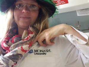 Manja Kubeil lernt in Australien nicht nur neue Forschungsmethoden kennen, sondern zum Teil auch eine andere Welt. Quelle: Privat