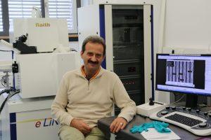 Dr. Yordan Georgiev develops new ways for the fabrication of nanoelectronics. Source: HZDR