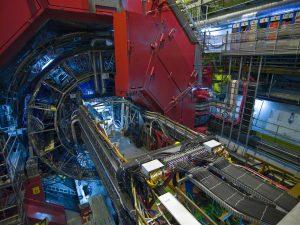 Am ALICE-Experiment wollen die CERN-Forscher den Zustand der Materie unmittelbar nach dem Urknall nachstellen. Foto: CERN