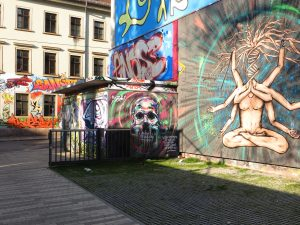 The creative heart of Dresden: the district Äußere Neustadt. Source: Christoph Münch DML BY-NC