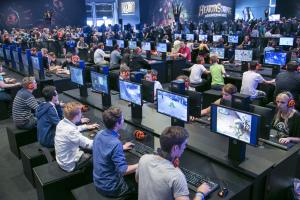 Impression von der gamescom 2014: Blizzard, Halle 7
