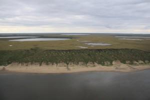 Das Ufer von Kurungnakh. Foto: T. Sachs