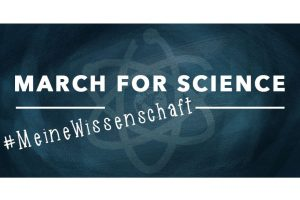 "Am 22. April 2017 findet der weltweite ""March for Science"" statt. Bild: Veronika Mischitz"