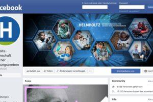 Helmholtz-Facebook-Seite abgeschaltet