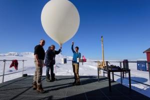Die Stratosphäre und das Wasser – Aufstieg der CFH-Sonde
