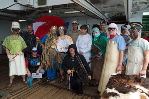 Neptun's motley crew 2015. Photo: AWI