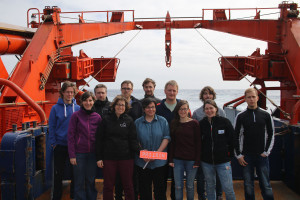 The ProIron group (Picture: Andreas Bäcker, RV Polarstern crew).