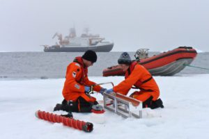 Sea ice samples