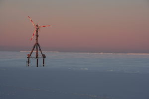 Die Windkraftanlage, Foto: Stefan Schnitzler