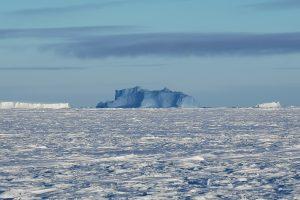 Sonntagnachmittag in der Antarktis bei Schneedrift…