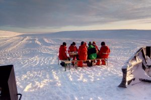 Polartag ohne Sonne …