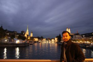 Since living in Europe Aniruddh Das is attracted to historical buildings. Source: Private