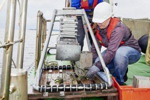 Schadstoffsuche in der Ostsee
