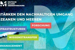 Startschuss für die Deutsche Allianz Meeresforschung