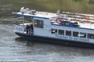 Forschungsschiff ALBIS bereit für große Elbe-Befahrung