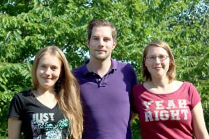 The new DO IT speakers are Nadiia Soklakova, Tobias Lübke and Nadine Koch (f.l.t.r)